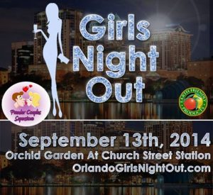 Girls Night Out at Orchid Garden at Church Street Station on September 13, 2014