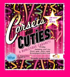 Corsets and Cuties Jan 23rd