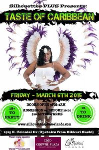 Silhouettes Plus Taste Of Caribbean March 6th