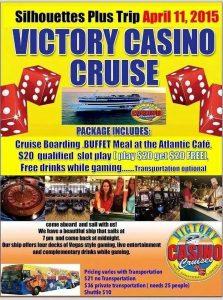 Silhouettes Plus Casino Cruise April 11th