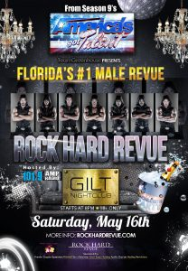 Rock Hard Revuew at GILT May 16th
