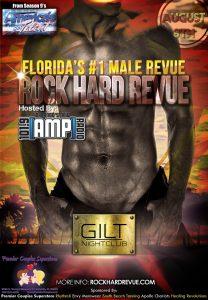 Rock Hard Revue at GILT Nightclub on August 8th 2015