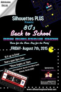 Silhouettes Plus 80's August 7th