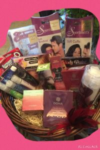 This basket filled with exciting, sexy goodies will be one of many items auctioned off!!
