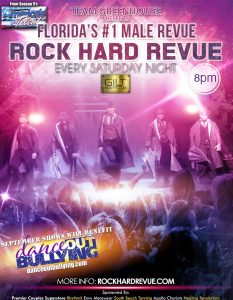 Rock Hard Revue at GILT Night Club Saturday September 19th